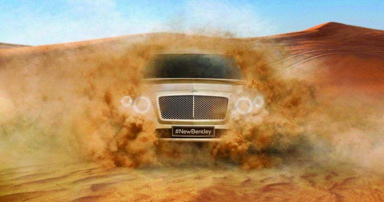 بينتلي SUV 2016.. قريبا