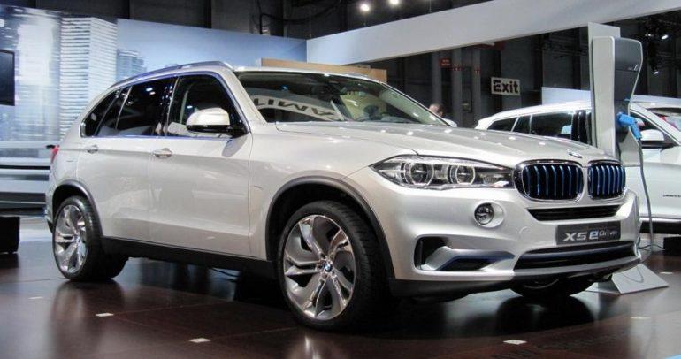 X5 eDrive أول سيارة هجينة رباعية الدفع من BMW