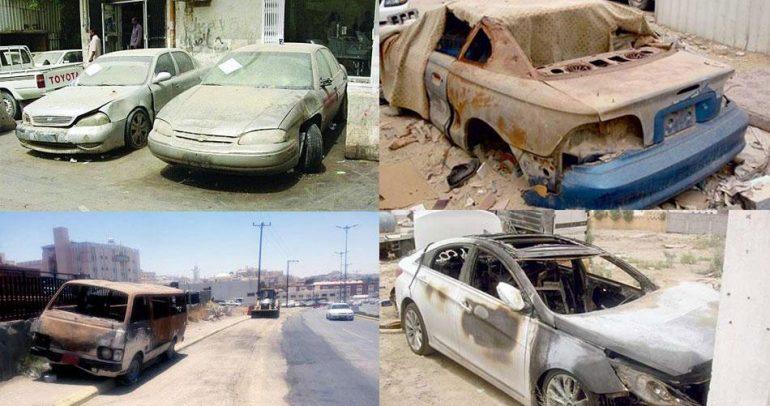 """بالفيديو: لا سيارات """"تالفة"""" في السعودية بعد 10 أيام !"""