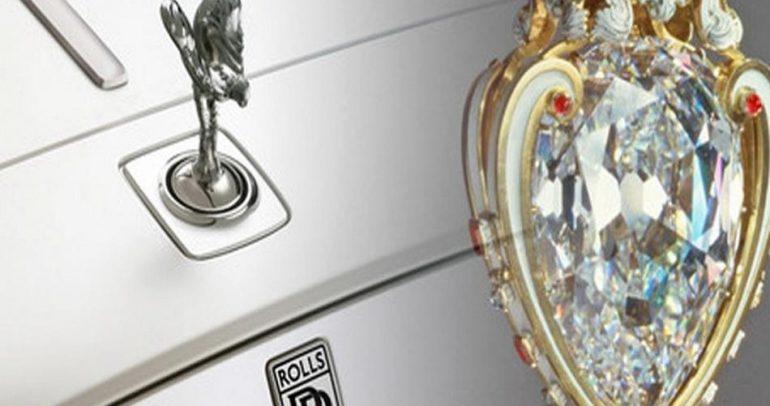 أكبر قطعة الماس في العالم.. لسيارة رولز رويس !