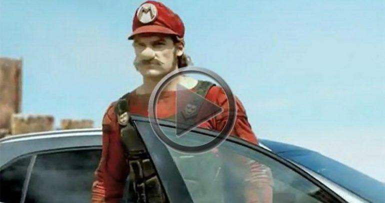"""بالفيديو: وأصبح لـ """"سوبر ماريو"""" سيارة !"""