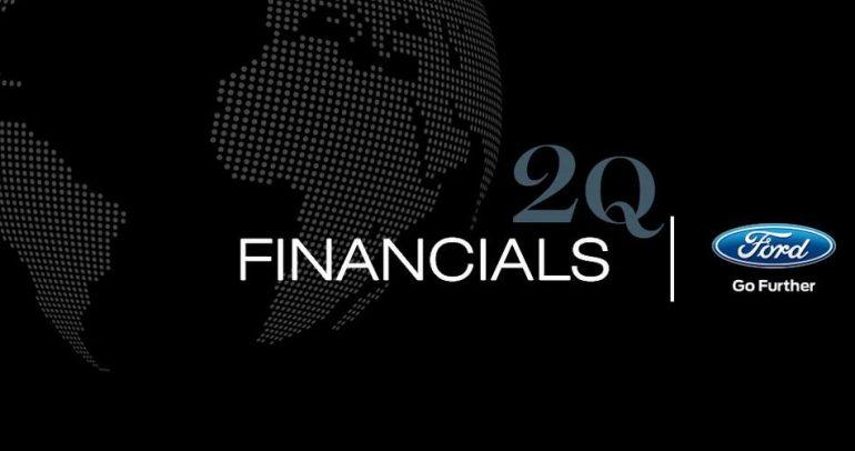 كم بلغت أرباح فورد في الفصل الثاني من 2014 ؟