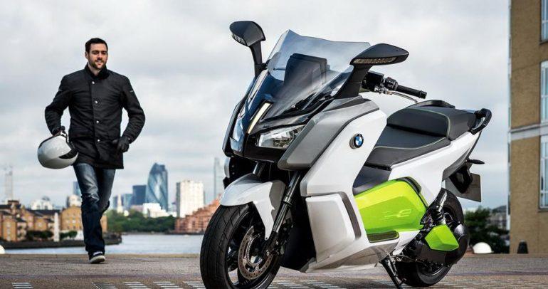 """جديد شركة """"بي ام دبليو"""".. دراجة كهربائية !"""