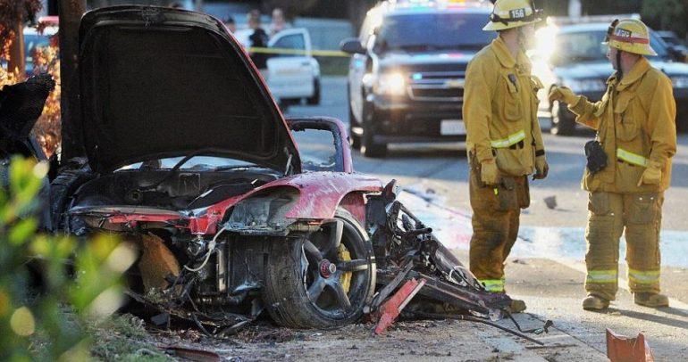 سرقوا أجزاء من حطام سيارة بول ووكر وروجر روداس … ماذا بعد؟