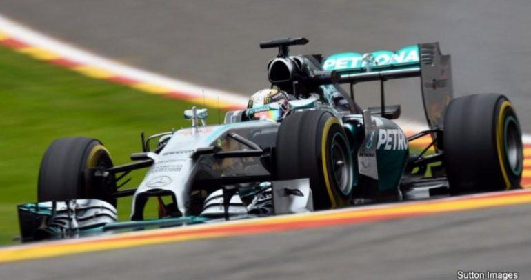 هاميلتون يتفوق على روزبرج في الجولة الثانية للتجارب الحرة لسباق بلجيكا