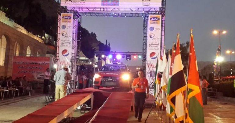 رالي شيراز محطة مهمة بأجندة بطولة الشرق الأوسط للراليات