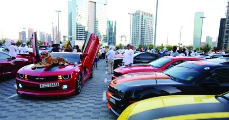 مهرجان الخليج للسيارات الفريدة.. لأول مرة في دبي