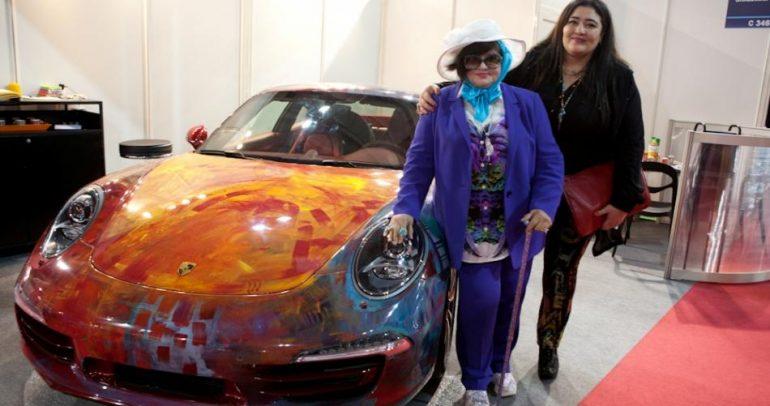كيف تواجدت السعودية في معرض باريس للسيارات؟