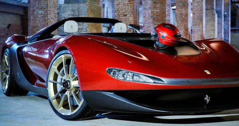 فيراري سيرجيو.. سيارة فاخرة لـ 6 أثرياء من العالم! (فيديو)