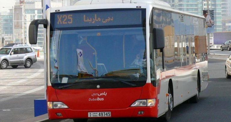 بماذا تتميز حافلات النقل العام في دبي ؟