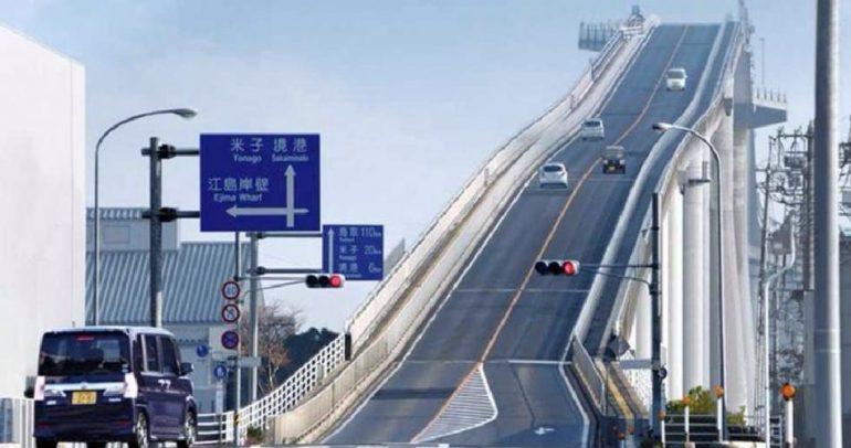 بالفيديو: هل تجرؤ القيادة على أخطر جسر في العالم ؟