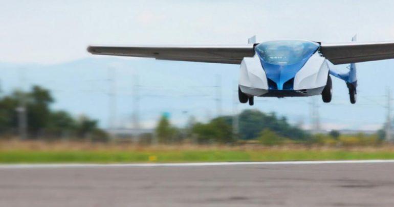 بالفيديو: أصبح بامكانك الطيران من خلال سيارة مستقبلية!