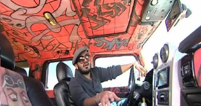 سعودي يحول سيارته الى لوحة فنية بتعديلات جنونية ومدهشة!