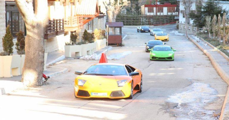 لمالكي اللامبرجيني في لبنان.. تجربة قيادة استثنائية