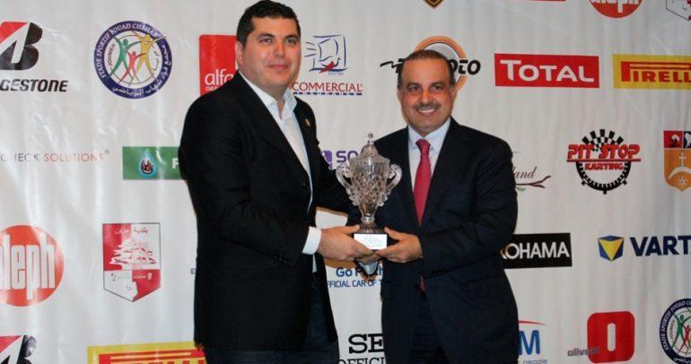 حفل توزيع الجوائز لأبطال لبنان