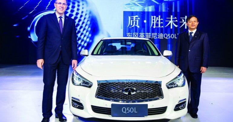 إنفينيتي تبدأ إنتاج Q50L.. في الصين !