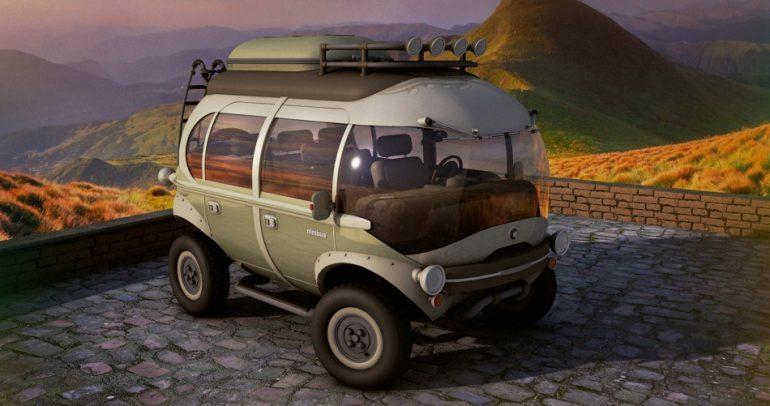 لمن يعشق المغامرات.. إليكم سيارة بتصميم الحافلات الخارقة
