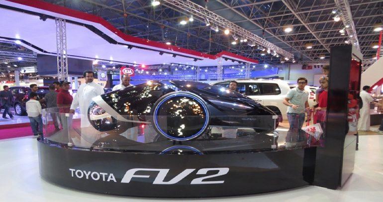 كيف خطفت تويوتا القلوب في معرض السعودية الدولي للسيارات؟