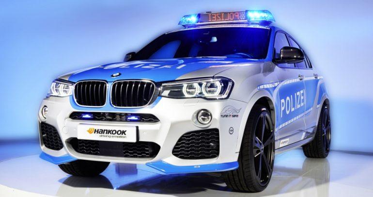سيارة شرطة خارقة من بي أم دبليو.. بمواصفات مميزة