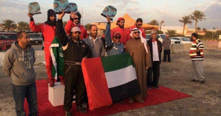 فريق الشيخ مروان بن راشد المعلا للراليات