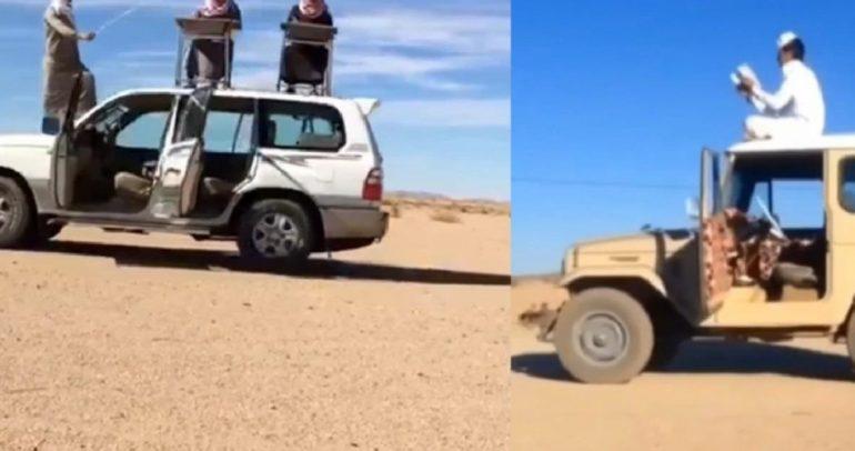 السعوديون يقدمون استعراضات لا يمكن تصديقها (فيديو)