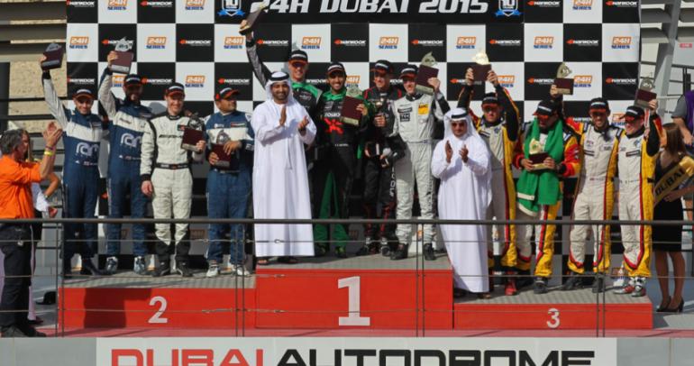 """السعودي محمد جاوا يجذب الأضواء في سباق """"هانكوك"""" 24 ساعة في دبي"""