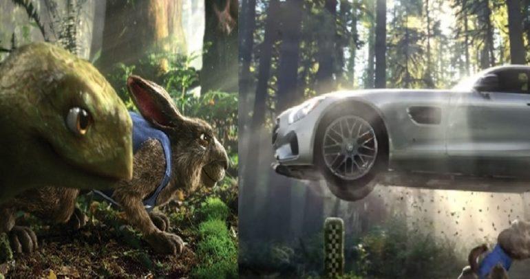 بالفيديو: ما علاقة مرسيدس بسباق الأرنب والسلحفاة ؟