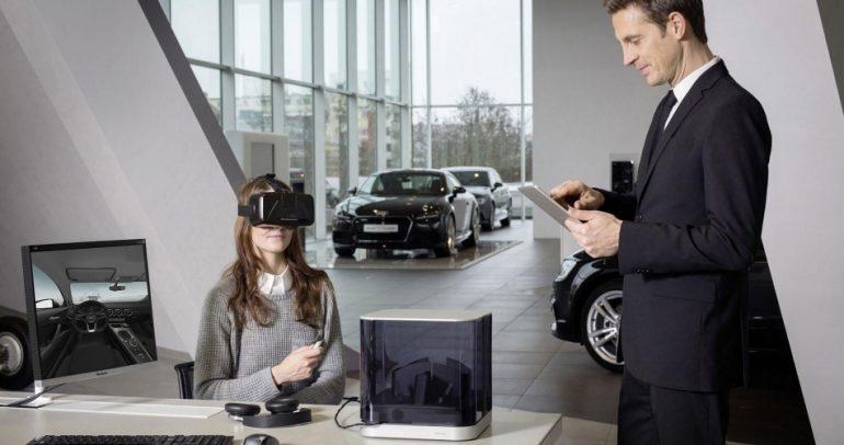 بالفيديو: اجلس مكانك.. وجرب السيارة بنظارة ذكية !