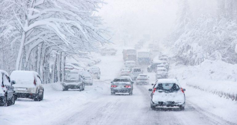 تحذير هام: انتبهوا على سياراتكم من العواصف الباردة والمثلجة