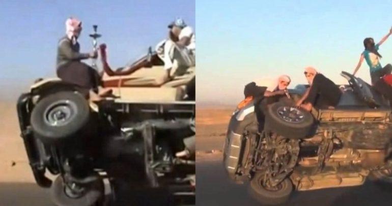 النرجيلة تحول سعودي الى أفضل سائق في العالم (فيديو)