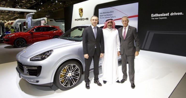 معايير قياسية لبورشه في معرض قطر للسيارات