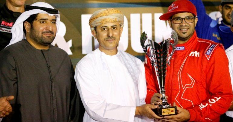 فريق تويوتا الإمارات  للدريفت  يحقق المركز الاول