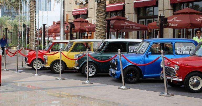صور: مهرجان الإمارات للسيارات الكلاسيكية.. الأكبر حتى الآن