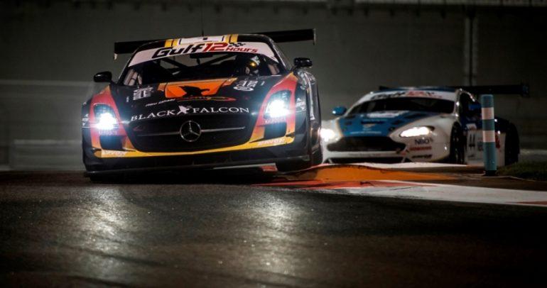 أبوظبي بلاك فالكن رابعاً في سباق الخليج 12 ساعة