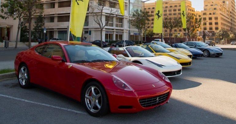 إختبار قيادة لقسم سيارات فيراري المستعملة في لبنان