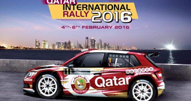 العطية يطمح لنيل لقب رالي قطر الدولي 2016