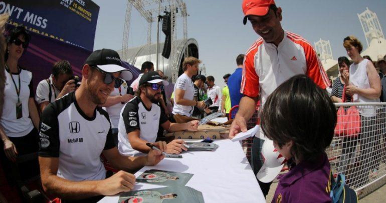 وصول فرق الفورمولا1 الى البحرين
