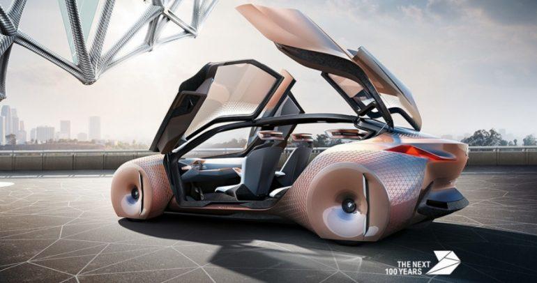 بالفيديو: سيارة بي ام دبليو Vision Next 100 تخطف العقول