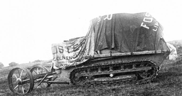 أول دبابة في تاريخ الإنسانية.. لم تشهد أي معركة