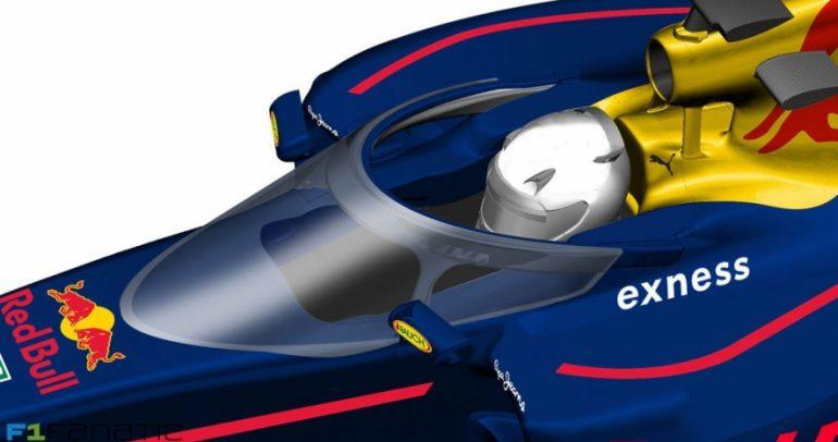 ريدبول رايسنغ للفورمولا واحد يقدم حلولا بديلة لحماية السائق