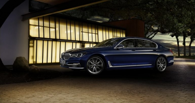 BMW 7 series … طبعة محدودة للاحتفال بالمئة عام
