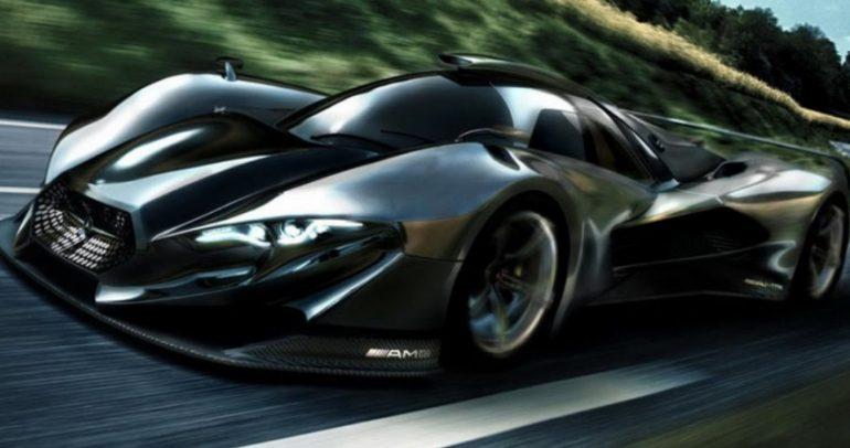 قريباً… سيارة خارقة من مرسيدس بمحرك متوسطي