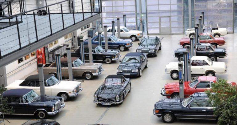 سيارات كلاسيكية عالية الأداء من برابوس في تكنو كلاسيكا