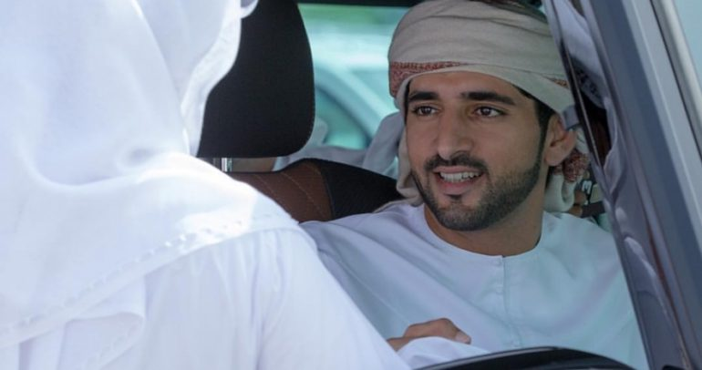 سيارة الـSUV الأسرع عالميا بين يدي ولي عهد دبي