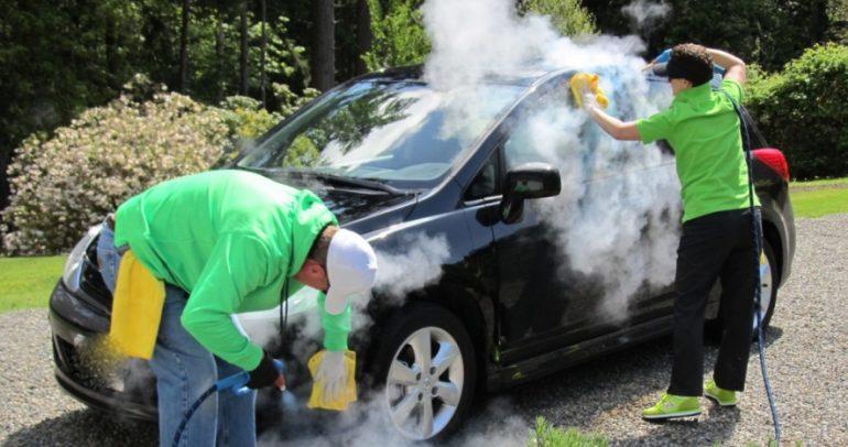 ما هي فوائد الغسيل الناشف للسيارة؟