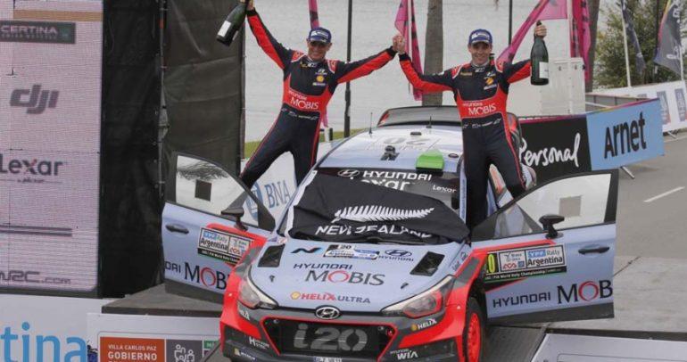 هيونداي موتورسبورت تحقق الفوز في رالي الأرجنتين