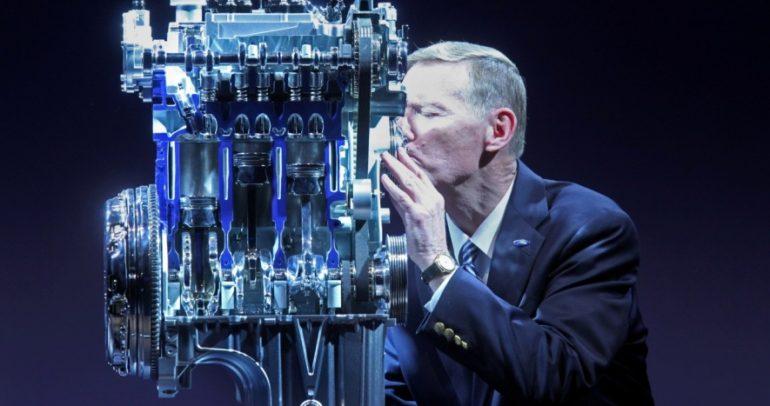 براءة اختراع لفورد بسبب تكنولوجيا الضجيج الوهمي بالمحرك لتوفير الوقود