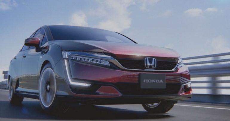 سيارة وقودها الهيدروجين من هوندا