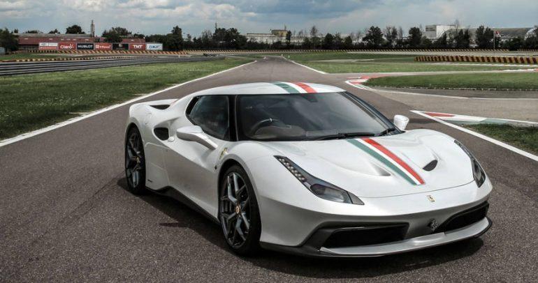 فيراري تبني سيارة مميزة 458 MM SPECIALE لبريطاني محظوظ