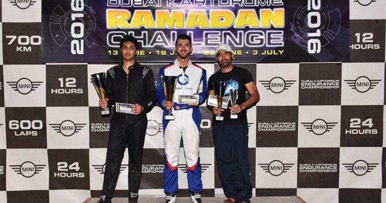 عزام يتوج بطلا لكأس الكبار في سلسلة تحدي رمضان
